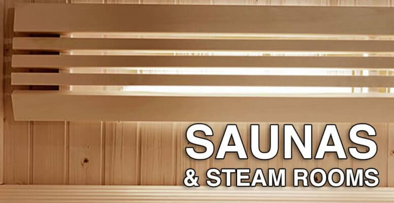 Saunas and steam room suppliers