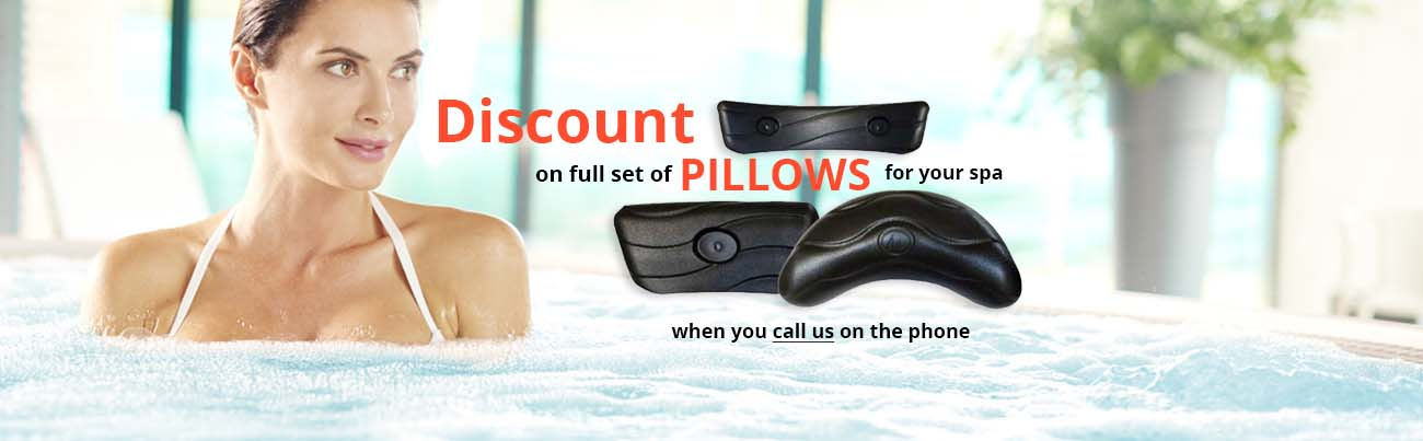 Hot tub and spa pillows and headrests discounts UK